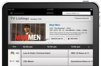 Comcast Xfinity remote for iPad does streaming video, we record some for you (video)