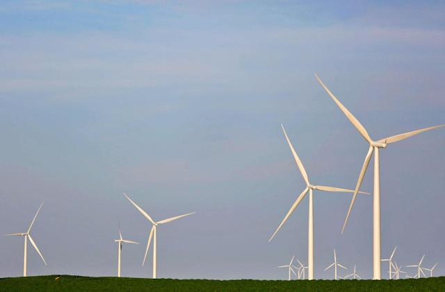 Amazon's largest wind farm yet is up and running in Texas