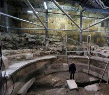 Ruins of Jerusalem hall shed light on Roman-era gatherings