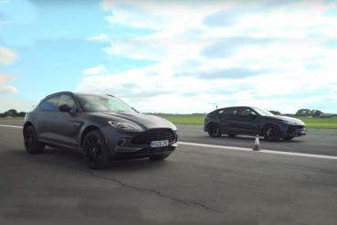 Aston Martin DBX挑戰Lamborghini Urus,英倫男能成功馴牛嗎?