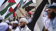 Thousands of Bangladeshi Muslims rally against Israel