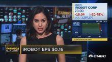 iRobot beats the top line