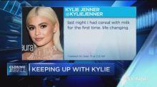 Kylie Jenner's impact on stocks