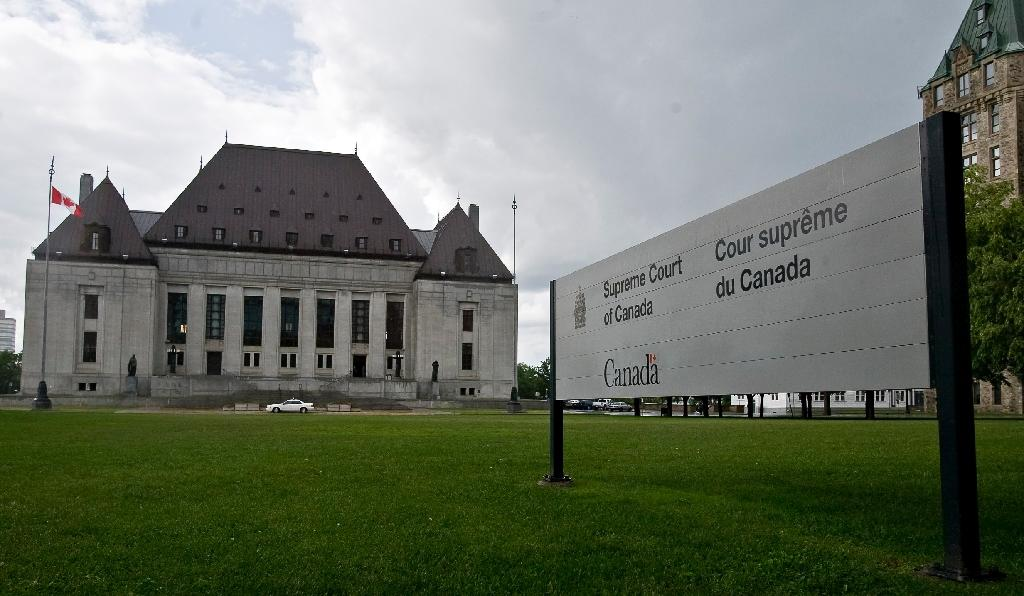 The Supreme Court of Canada sent proponents of broadening admissions to one of the Arctic's few French-language schools back to the drawing board, ordering a new trial in a convoluted case (AFP Photo/Geoff Robins)