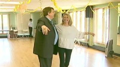 Donna Puts On Her Dancing Shoes For Good Cause