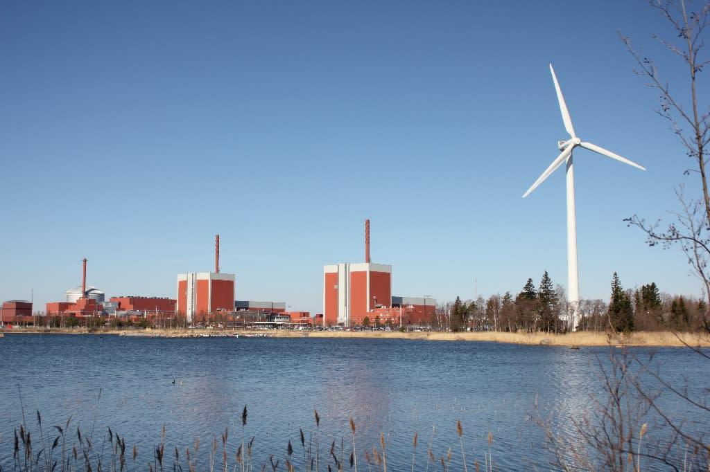 Olkiluoto nuclear power plant on the island of Eurajoki, western Finland (AFP Photo/Sam Kingsley)