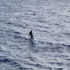 Missing Man Found Clinging To Capsized Boat 86 Miles Off Florida Coast