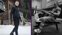 Daniel Craig se ejercita con una bota ortopédica para volver al rodaje de Bond 25