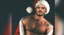 Luan Santana compartilha montagem sexy de Natal