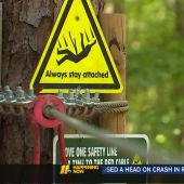 Raleigh thrill-seekers use caution after zip line death