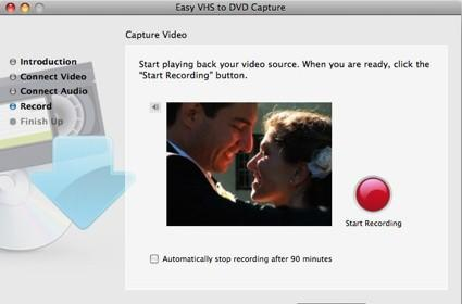 First Look: Roxio Easy VHS to DVD for Mac