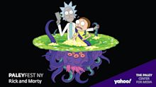 Rick and Morty at PaleyFest NY 2020