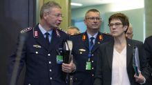 German defense minister rejects Turkey complaint over search
