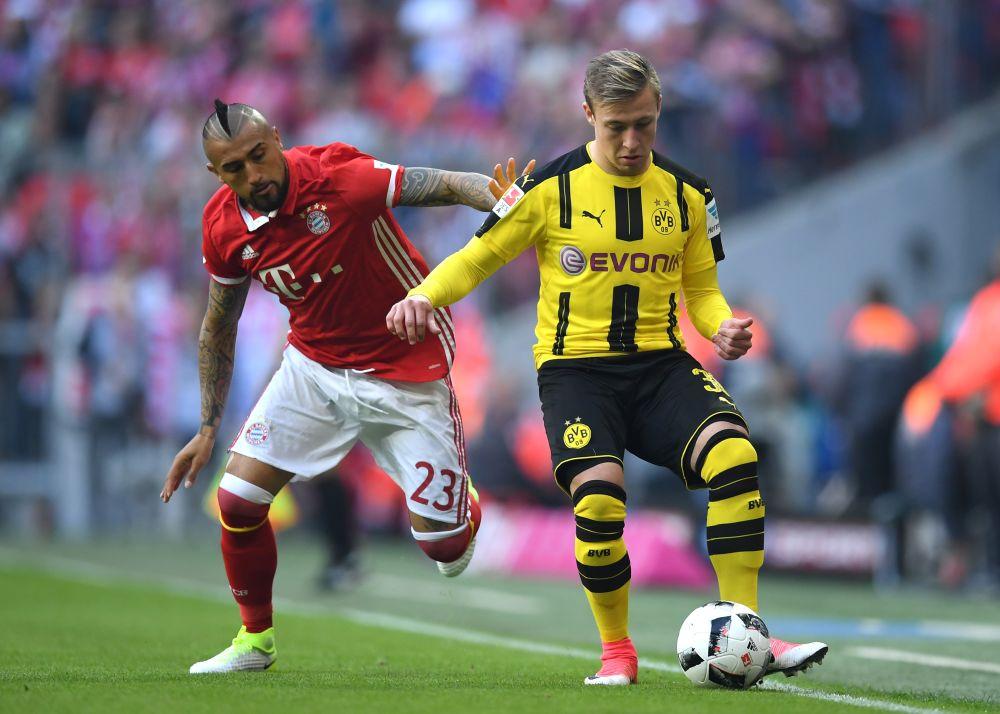 El partido de Arturo Vidal ante Borussia Dortmund
