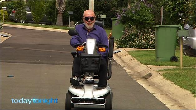 Drink driving on a mobility scooter