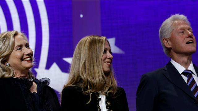 Clinton Foundation keeps it in the family