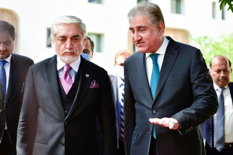 Head of Afghan peace process visits Pakistan as talks continue