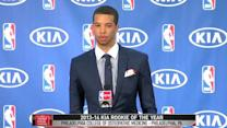 Carter-Williams Accepts Kia Rookie of the Year