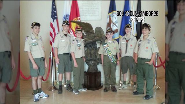 Local scouts attend the Boy Scouts National Jamboree