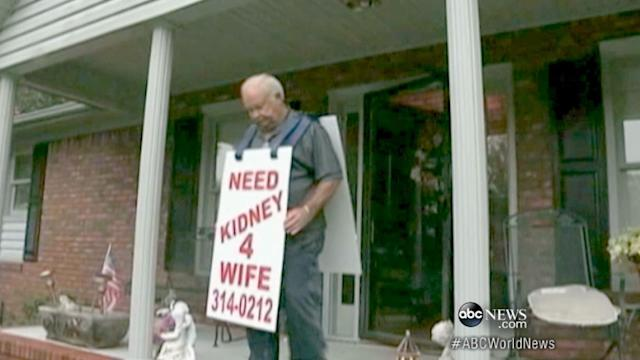 Husband Travels 250 Miles on Foot for Wife's Kidney