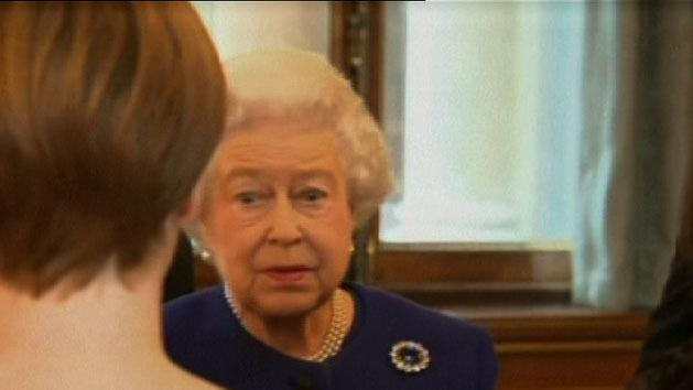 Queen misses church due to cold