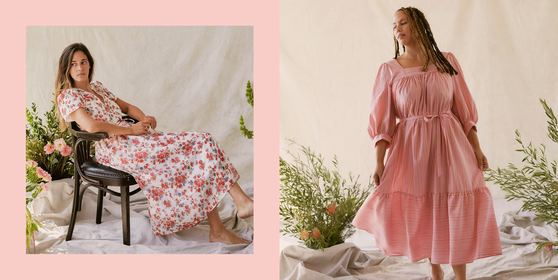 """<p>Towards the beginning of quarantine, you might have heard about the """"house dress"""" trend, and if you need a lil refresher, it's literally a dress you can wear around the house as, like, elevated <a href=""""https://www.cosmopolitan.com/style-beauty/fashion/g31817208/best-loungewear-brands/"""" rel=""""nofollow noopener"""" target=""""_blank"""" data-ylk=""""slk:loungewear"""" class=""""link rapid-noclick-resp"""">loungewear</a>. But the dress style is more specific. Usually, they're midi or maxi length, they don't have constricting waistlines, and they're just all-around pretty breezy and comfortable. (Think voluminous skirts, drop waists, smocking, wrap designs, linen and cotton fabric, etc.) </p><p>Basically, if you're sick of all your <a href=""""https://www.cosmopolitan.com/style-beauty/fashion/g31814564/best-sweatpants-for-women/"""" rel=""""nofollow noopener"""" target=""""_blank"""" data-ylk=""""slk:sweatpants"""" class=""""link rapid-noclick-resp"""">sweatpants</a> and <a href=""""https://www.cosmopolitan.com/style-beauty/fashion/g32365158/best-high-waisted-leggings-online/"""" rel=""""nofollow noopener"""" target=""""_blank"""" data-ylk=""""slk:leggings"""" class=""""link rapid-noclick-resp"""">leggings</a> and <a href=""""https://www.cosmopolitan.com/style-beauty/fashion/g32464462/best-adult-onesies-for-women/"""" rel=""""nofollow noopener"""" target=""""_blank"""" data-ylk=""""slk:pajamas"""" class=""""link rapid-noclick-resp"""">pajamas</a>, get yourself into a house dress and you'll be just as cozy because of the roomy shape, but you'll also look way fashionable on any video calls or for your party-of-one happy hour at home (no shame) while <a href=""""https://www.cosmopolitan.com/lifestyle/a31744921/social-distancing-activities/"""" rel=""""nofollow noopener"""" target=""""_blank"""" data-ylk=""""slk:social distancing"""" class=""""link rapid-noclick-resp"""">social distancing</a>. House dresses have been a major <a href=""""https://www.cosmopolitan.com/style-beauty/fashion/g32129000/summer-2020-fashion-trends/"""" rel=""""nofollow noopener"""" target=""""_blank"""" data-ylk=""""slk:summer trend"""" class=""""link rapid-noc"""
