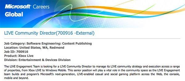 Is Microsoft gearing up for Xbox Live on mobile?