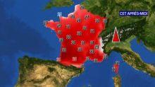 Jusqu'à 35 °C : le chaleur s'installe ce dimanche sur une grande partie de la France