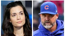 'Chicago Med's Torrey DeVitto steps out with Chicago Cubs manager David Ross: 'Love him madly'