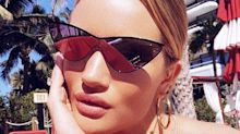 El cuerpazo post parto de Rosie Huntington Whiteley