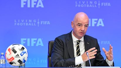 FIFA prez Infantino tests positive for COVID-19