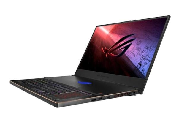 ASUS adds new Intel chips to its Zephyrus gaming laptops
