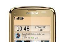 Nokia C3-01 Gold Edition gets blinged out with 1GHz processor and gold-plated bod