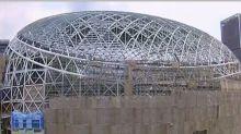 變更設計完成 北市府同意大巨蛋復工
