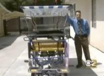 California man builds his own solar-electric vehicle