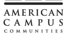 American Campus Communities Announces Renewal of its $1.0 Billion Unsecured Revolving Credit Facility