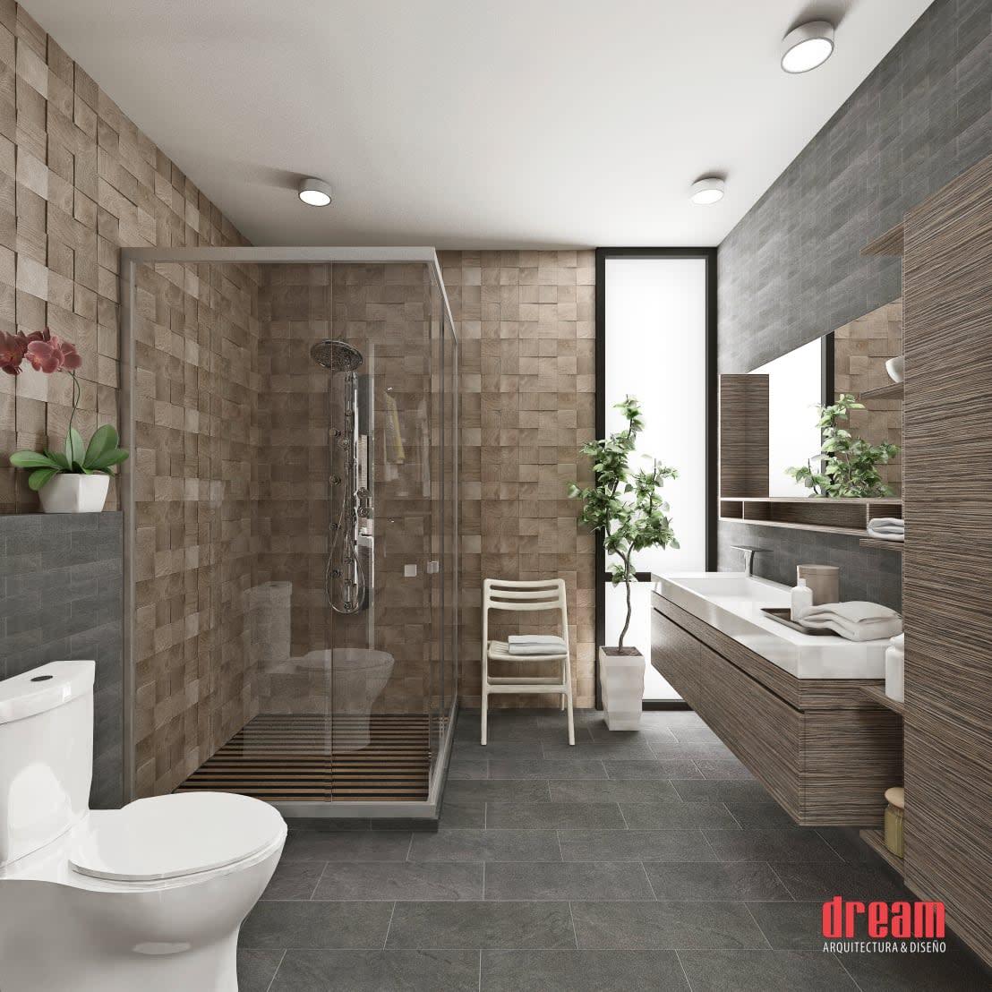 10 idee fantastiche per il rivestimento delle pareti del bagno - Idee per rivestimento bagno ...