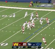 No offense, but the Cowboys might have tried the worst fake punt ever
