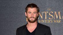 Chris Hemsworth's face 'slammed' into birthday cake by his son