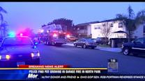 Police find pot growing in garage fire in North Park