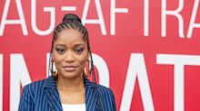 Keke Palmer says President Trump is 'inciting a race war' and talks 'euphoric' experience of confronting the National Guard