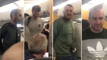 'Appalling' drunken stag party who caused havoc on plane and caused flight to be diverted are jailed