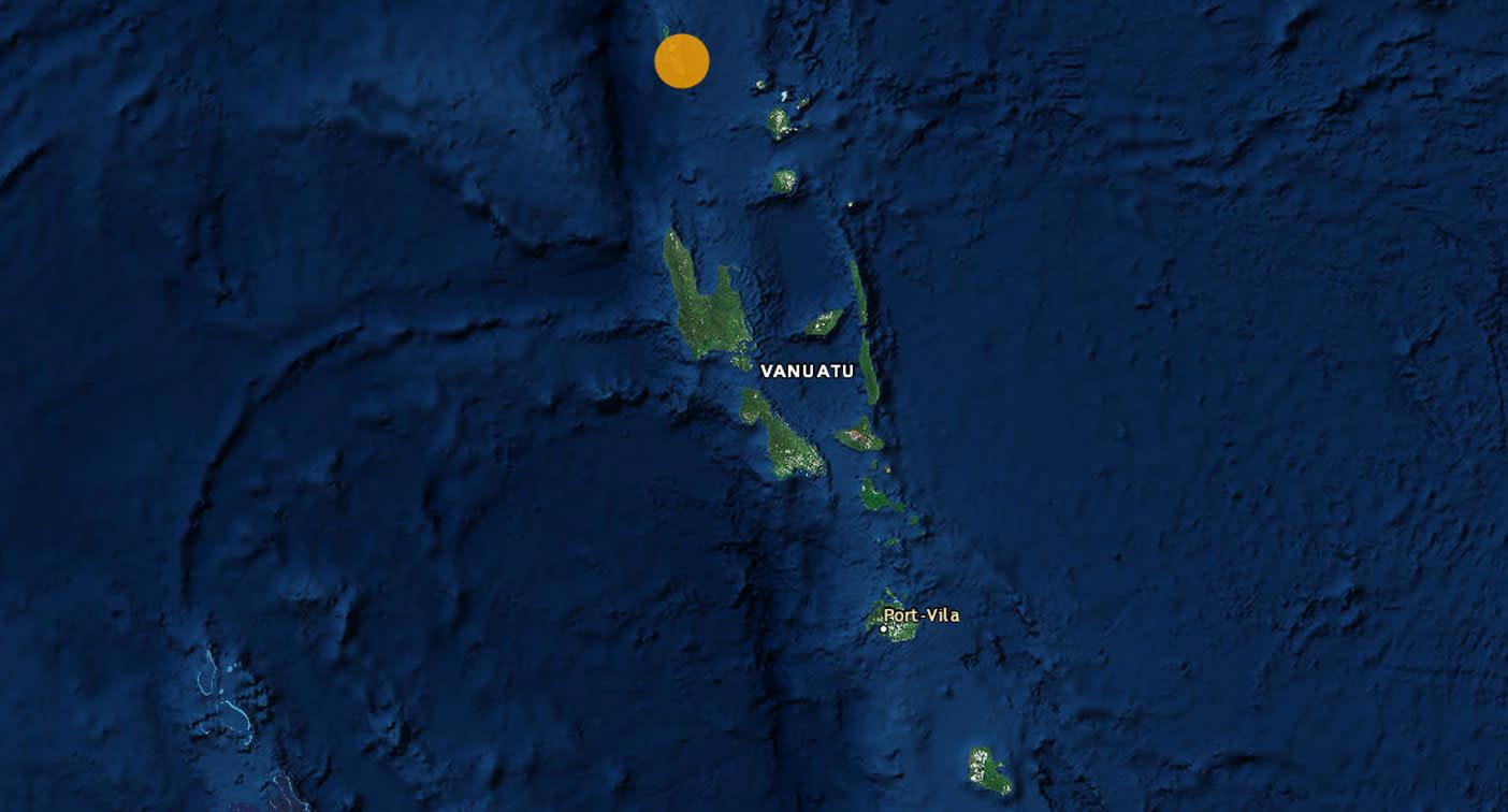 Powerful 6.6 magnitude earthquake strikes off Vanuatu