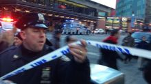 New York subway hit by explosion