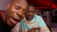 Dave Chappelle hijacks Michael Che's interview on 'Jimmy Kimmel Live'