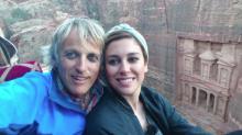 Las aventuras de Blanca Suárez y Jesús Calleja en su viaje Jordania