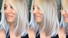 Kaley Cuoco Shows Off Her New 'Icy' Summer Hair Color