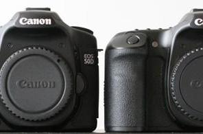 Canon EOS 50D begins filtering out, gets previewed