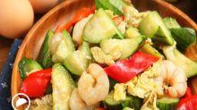 食譜搜尋:絲瓜滑蛋蝦仁