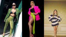 Anitta e Sabrina Sato abusaram do verde limão e entraram no nosso 5 looks da semana!